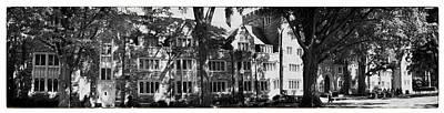 James Madison University Photograph - Duke University Panorama by Georgia Fowler