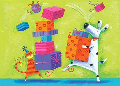 Dukes Birthday Art Print by Peter Adderley