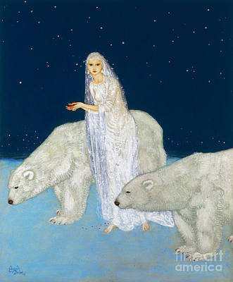 Dulac: The Ice Maiden, 1915 Art Print by Granger
