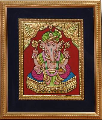 Dulha  Vinayak Art Print by Vimala Jajoo