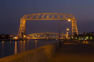 Pop Art - Duluth Lift Bridge 4 by John Brueske