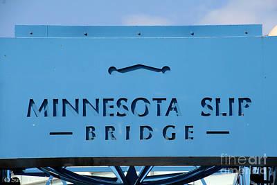 Photograph - Duluth's Slip Bridge by Susan Herber