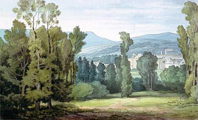 Dulverton, Somerset, 1800 Wc On Paper Art Print