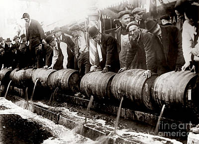 1920 Photograph - Dump The Beer by Jon Neidert