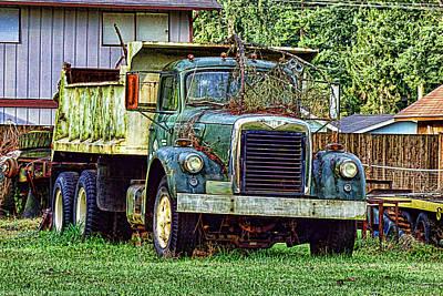 Photograph - Dump Truck by Ron Roberts