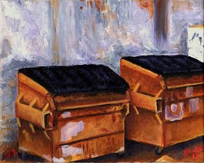 Dumpster No. 2 Art Print