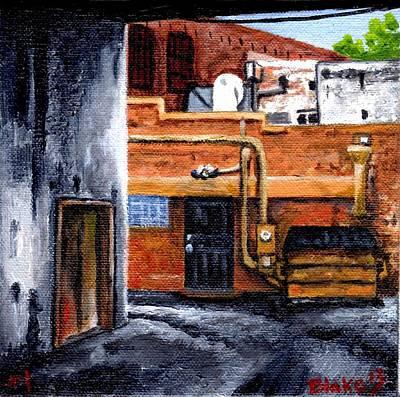 Dumpster No.1 Art Print
