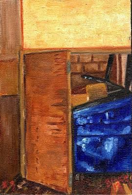 Dumpster No.3 Art Print