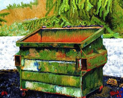 Dumpster No.4 Art Print