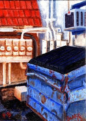 Dumpster No.5 Art Print