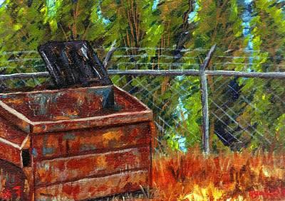 Dumpster No.7 Art Print