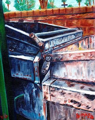 Dumpster No.8 Art Print