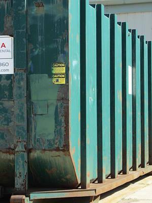 Photograph - Dumpster Rust 3 by Anita Burgermeister