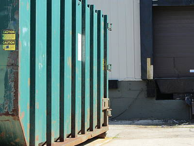 Photograph - Dumpster Rust 4 by Anita Burgermeister