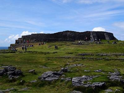 Photograph - Dun Aengus  by Keith Stokes