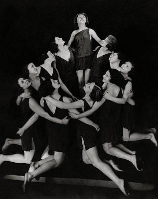 Photograph - Duncan Dancers Of Moscow by Edward Steichen