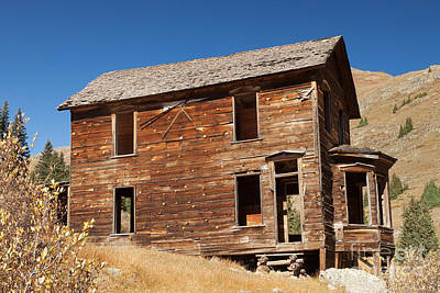 Photograph - Duncan House Or Walsh House In Animas Forks by Fred Stearns