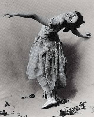 Duncan, Isadora 1878-1927. � Art Print by Everett