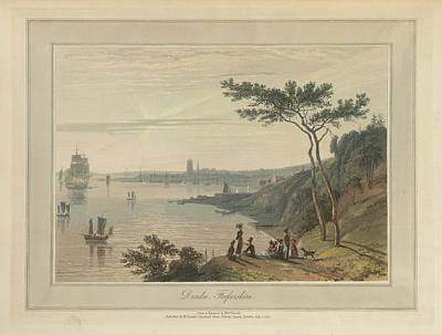 Dundee Photograph - Dundee In Forfarshire by British Library