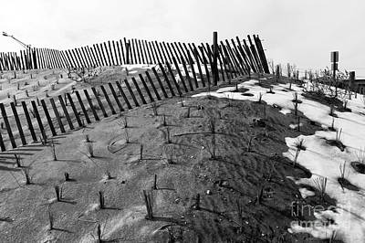 Photograph - Dune Angles Mono by John Rizzuto