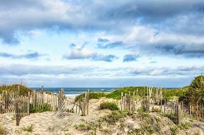 Art Print featuring the photograph Dune At Coquina Beach by Gregg Southard