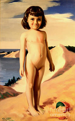 Painting - Dune Baby by Art By Tolpo Collection