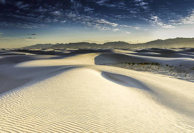 Dune Art Print by Christian Skilbeck