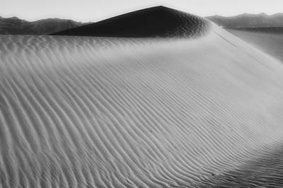 Dune Death Valley Art Print by Hugh Smith