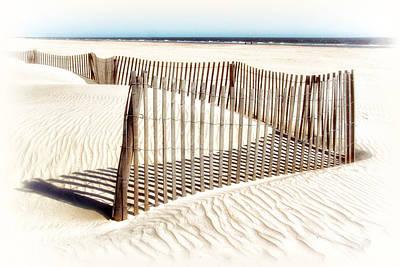 Photograph - Dune Fence by Carolyn Derstine