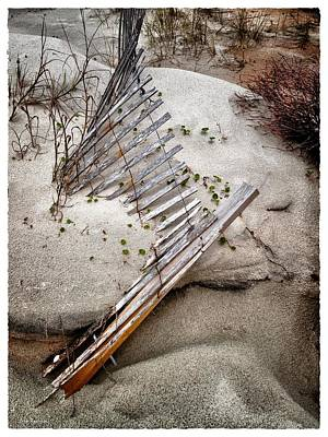 Photograph - Storm Fence Series 5 by John Pagliuca