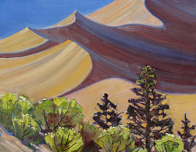 Painting - Dune Field by Susan McCullough