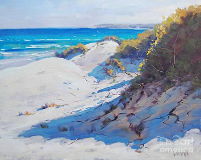 Australian Beach Painting - Dune Light by Graham Gercken