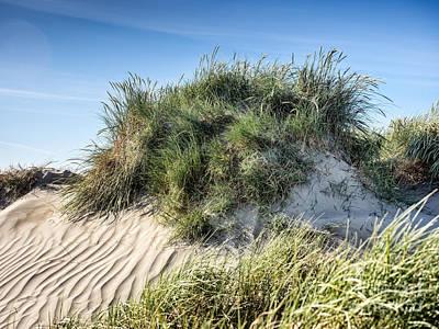Music Figurative Potraits - Dune on Rindby beach on the island Fanoe by Frank Bach
