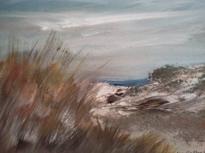 Cape Cod Painting - Dune Overlook by Joseph Gallant