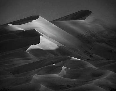 Photograph - Dune Shadows by C. Fredrickson Photography