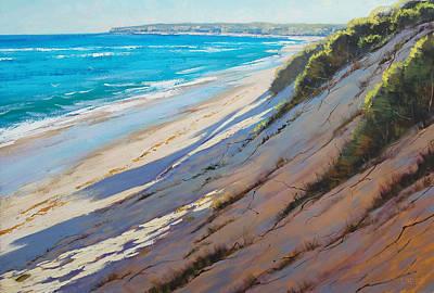 Sand Dunes Painting - Dune Shadows by Graham Gercken