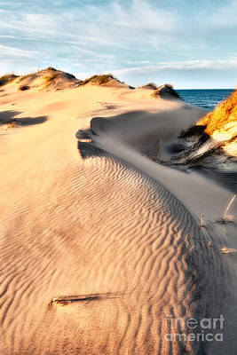 Dune Shadows - Outer Banks Art Print