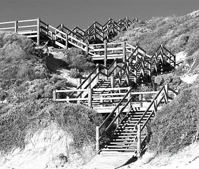Dune Steps 02 Art Print by Rick Piper Photography