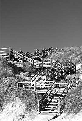 Photograph - Dune Steps 03 by Rick Piper Photography