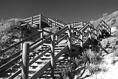 Photograph - Dune Steps 04 by Rick Piper Photography