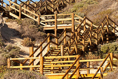 Photograph - Dune Steps 05 by Rick Piper Photography