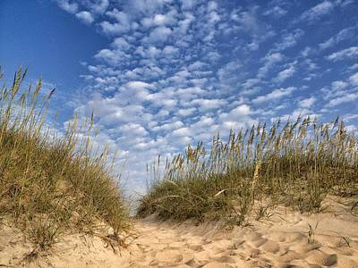 Photograph - Dunes And Sky by Dave Hall