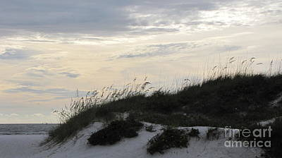 Dunes At Dusk Art Print by Gayle Melges