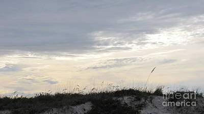 Dunes At Dusk II Art Print by Gayle Melges