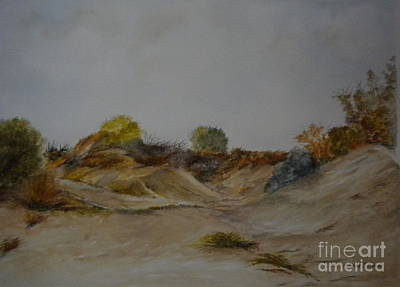 Painting - Dunes At Solymar II by Madie Horne