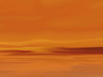 Dunes At Sunset Art Print by Tim Stringer