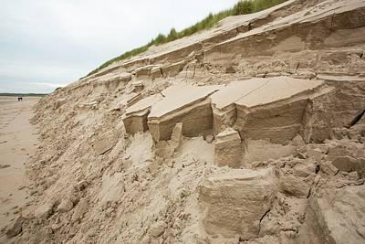 Dunes Collapsing Art Print