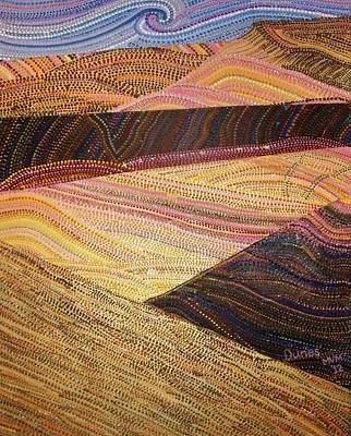 Dunes Art Print by Maria VanderMolen