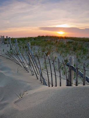 Sand Fences Photograph - Dunes Of Cape Cod by Patrick Downey