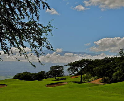 Photograph - Dunes Of Maui Lani 14th Fairway by Kirsten Giving